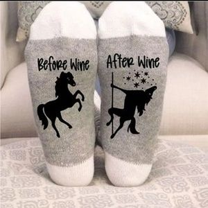 Accessories - Before Wine After Wine Socks